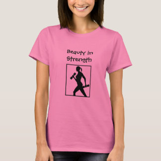 Work-out Shirt for the Fitness Weight-lifting Girl