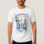 Work Pays America 1939 WPA T Shirts