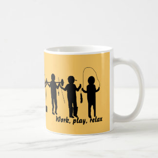Work, Play, Relax Mug