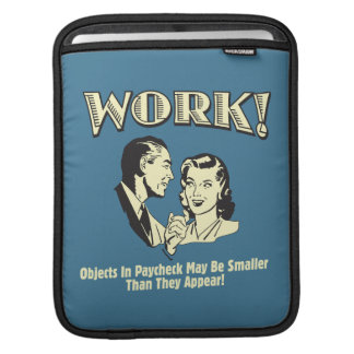 Work: Smaller Than They Appear iPad Sleeves