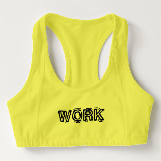 Work Sports Bra