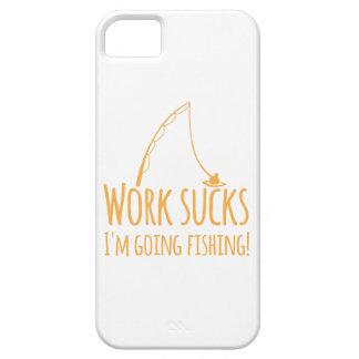 Work sucks- I'm going fishing! iPhone 5 Cover