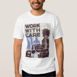 Work With Care 1937 WPA Tees