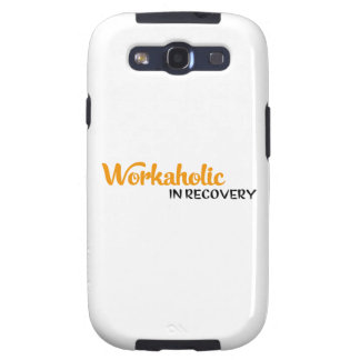 Workaholic in recovery samsung galaxy s3 covers