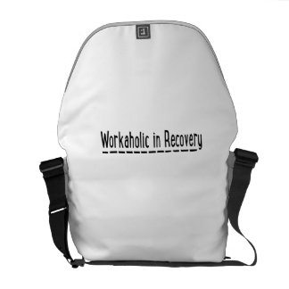 Workaholic in Recovery Courier Bag