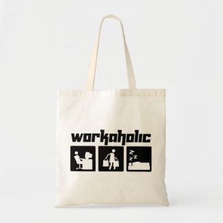 Workaholic Budget Tote Bag