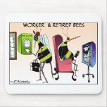 Worker and Retired Bee