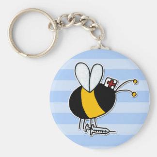 worker bee - nurse key chains