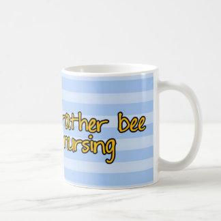 worker bee - nurse classic white coffee mug