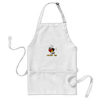 worker bee - paperboy adult apron
