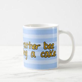 worker bee - pastry chef basic white mug