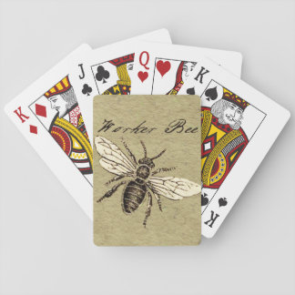 Worker Bee Playing Cards