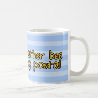 worker bee - postal worker coffee mug