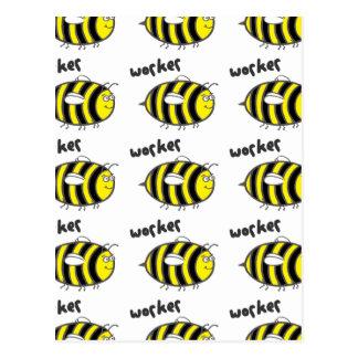 Worker Bee Postcards