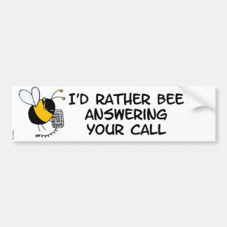 worker bee - sales bumper sticker