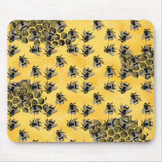 Worker Bees Mouse Pad