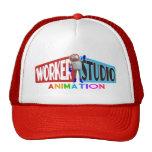 Worker Studio Animation Trucker Cap Mesh Hat