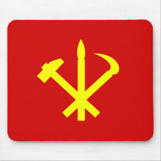 Workers'27 Party Of Korea, Colombia Political Mouse Mat