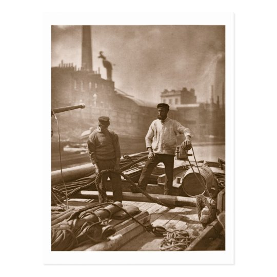 Workers on the 'Silent Highway', from 'Street Life