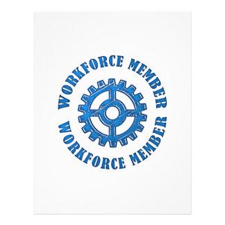 Workforce Member 21.5 Cm X 28 Cm Flyer