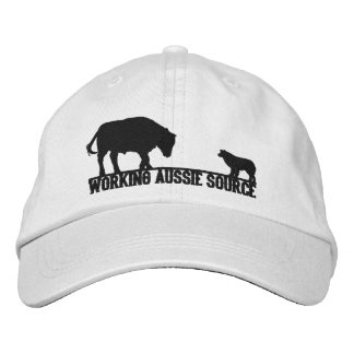 Working Aussie Source Embrodered Hat Embroidered Baseball Caps
