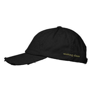 working class embroidered hats