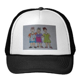 working girls hat