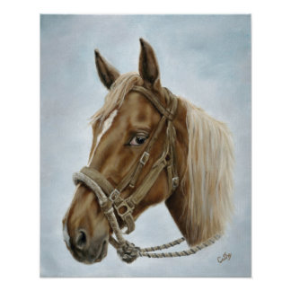 Working Horse Poster