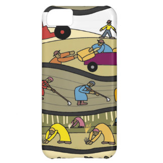 Working in the fields iPhone 5C case