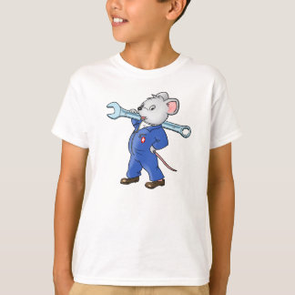 Working-man Mouse - T-shirt