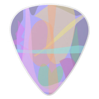 Working Man White Delrin Guitar Pick