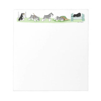 Working Schnauzer Notepad
