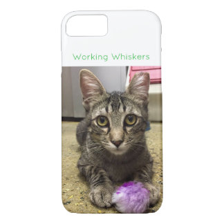 Working Whiskers Cellphone Case