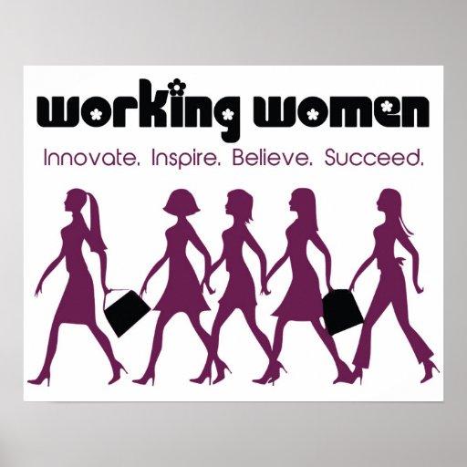 Working Women Poster