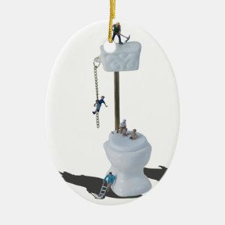 WorkingOnPlumbingIssues052714.png Ceramic Oval Decoration