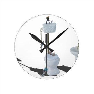 WorkingOnPlumbingIssues052714.png Round Clock