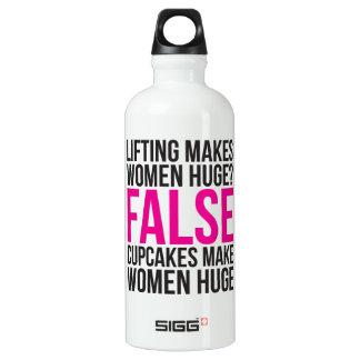 Workout Fitness Motivation - Lifting vs Cupcakes SIGG Traveller 0.6L Water Bottle