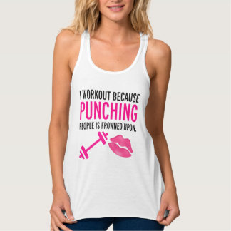"""Workout"" Fitness Workout TANK"
