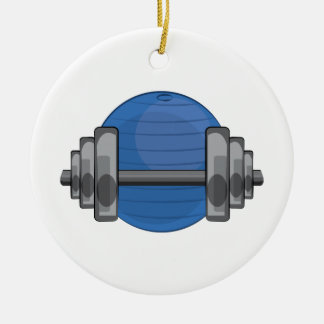 Workout Gear Christmas Ornament