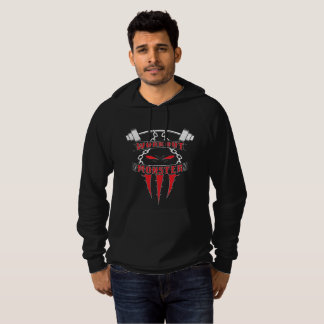 Workout Monster Hoodie