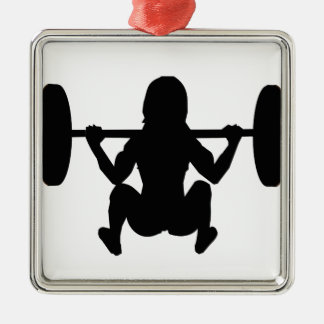 workout mum christmas ornament