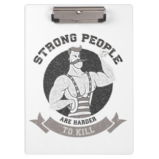 Workout - Strong People Are Harder To Kill Clipboard