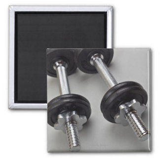 Workout weights square magnet