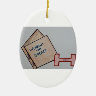 Workout Your Spirit Ornament