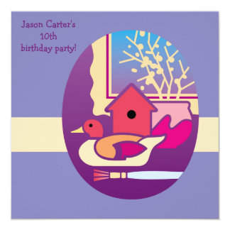 Workshop - Birthday Party Invitation