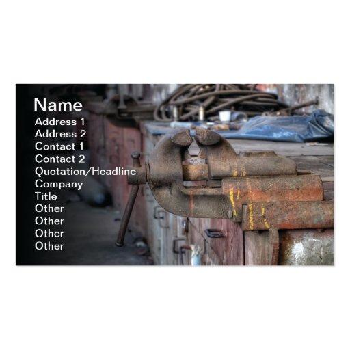 Workshop Business Card