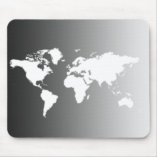 WORL MAP MOUSE MAT