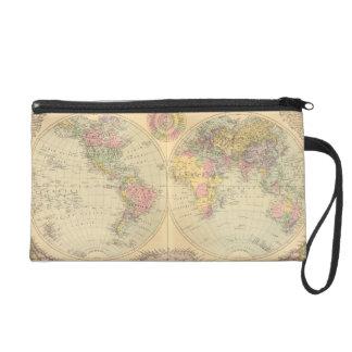 World 10 wristlet purse
