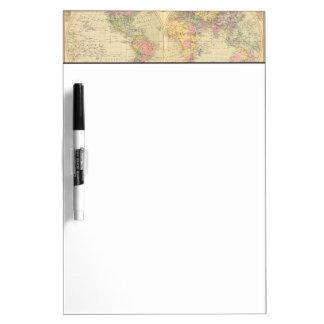 World 10 dry erase board