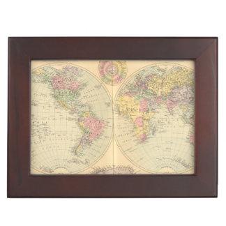 World 10 keepsake box